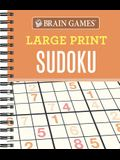 Brain Games - Large Print Sudoku