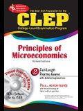 CLEP Principles of Microeconomics [With CDROM]