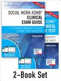 Social Work Aswb Clinical Exam Guide and Practice Test, Second Edition Set: A Comprehensive Study Guide for Success