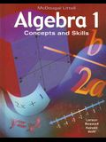 Algebra 1: Concepts and Skills: Student Edition © 2001 2001