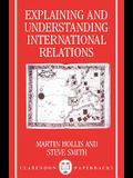 Explaining and Understanding International Relations