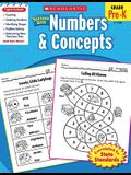 Scholastic Success with Numbers & Concepts Workbook