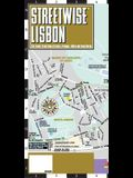 Streetwise Lisbon Map - Laminated City Center Street Map of Lisbon, Portugal