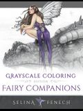 Fairy Companions - Grayscale Coloring Edition