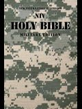 NIV, Holy Bible, Military Edition, Compact, Paperback, Digi Camo