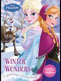 Winter Wonders Coloring Book (Disney Frozen ) (Color Fun!)