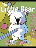 The Little Bear 'Color Me In' Story Book
