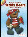 Design Your Own Teddy Bears Sticker Activity Book