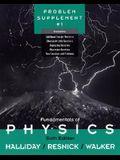 Fundamentals of Physics,, Problem Supplement No. 1