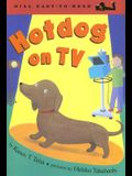 Hotdog on TV
