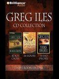 Greg Iles CD Collection 4: Black Cross, 24 Hours, Third Degree