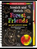 Scratch & Sketch Forest Friends