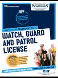 Watch, Guard and Patrol License, Volume 3867