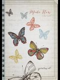Butterflies: Made New Large Journal: 2 Cor. 5:17