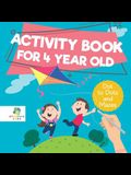 Activity Book for 4 Year Old Dot to Dots and Mazes