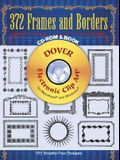 372 Frames and Borders CD-ROM and Book [With]