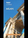 Fodor's Milan 25 Best