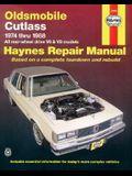 Oldsmobile Cutlass, 1974-1988: All Rear-Wheel Drive V6 and V8 Models