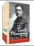 The Letters of Ernest Hemingway Hardback Set Volumes 1-3: Volume 1-3