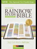 Rainbow Study Bible-NIV-Kaleidoscope