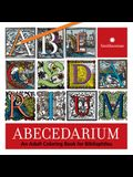 Abecedarium: An Adult Coloring Book for Bibliophiles