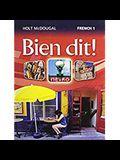 Bien Dit!: Student Edition Level 1 2013
