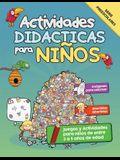 Actividades Didácticas para Niños: Juegos y Actividades para niños de entre 3 a 5 años de edad