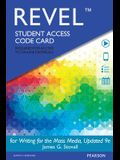 Revel for Writing for the Mass Media, Updated Edition -- Access Card