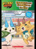 Komasan and Komajiro in the City (Yo-kai Watch Chapter Book #2)