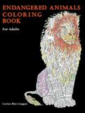 Endangered Animals Coloring Book: For Adults