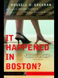It Happened in Boston? (20th Century Rediscoveries)