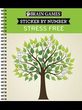 Brain Games Sticker by Number Stress Free