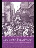 The Hare Krishna Movement: The Postcharismatic Fate of a Religious Transplant
