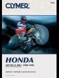 Clymer Honda Atc 185 & 200, 1980-1986: Service, Repair, Maintenance