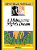 A Midsummer Night's Dream (Shakespeare Made Easy (Paperback))