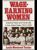 Wage-Earning Women: Industrial Work and Family Life in the United States, 1900-1930