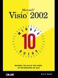 10 Minute Guide to Microsoft VISIO 2002