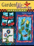 Garden Whimsy Applique