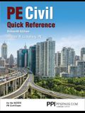 Ppi Pe Civil Quick Reference, 16th Edition (Paperback) - A Comprehensive Reference Guide for the Ncees Pe Civil Exam