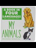 A Book in Four Languages: My Animals