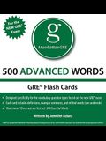 500 Advanced Words, 1st Edition: Manhattan GRE Vocabulary Flash Cards