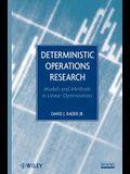 Deterministic Operations Resea