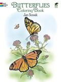 Dover Publications-Butterflies Coloring Book (Dover Nature Coloring Book)