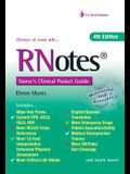 Rnotes?: Nurse's Clinical Pocket Guide