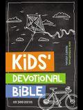 NIRV Kids' Devotional Bible, Hardcover: Over 300 Devotions