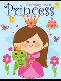 Princess Coloring Book: Pretty Princesses Coloring Book for Girls, Boys, and Kids of All Ages