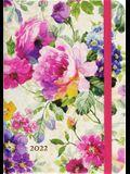 2022 Peony Garden Weekly Planner (16-Month Engagement Calendar)