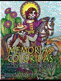 Memorias Coloridas: Libro para colorear con poemas e ilustraciones mexicanas inspiradas en el Día de los Muertos