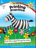 Printing Practice, Grade 2: Gold Star Edition