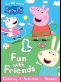 Peppa Pig Fun with Friends (Sticker Scenes &